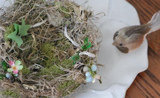 Nest on Plate